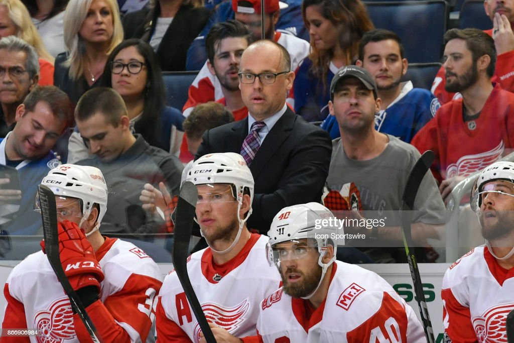 NHL: OCT 26 Red Wings at Lightning : News Photo
