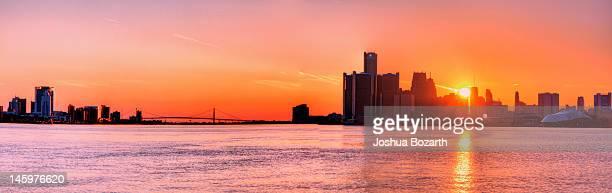 detroit river - detroit river stock photos and pictures