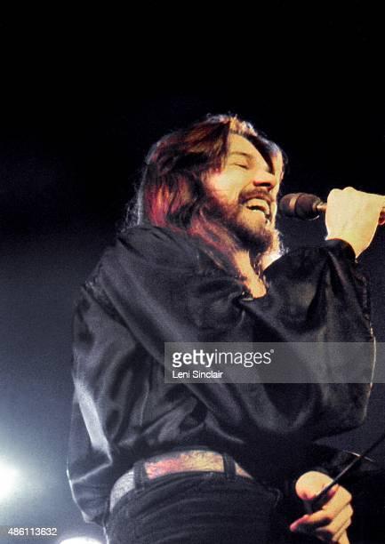 Detroit rock musician Bob Seger performing in June 1980 at Cobo Arena in Detroit