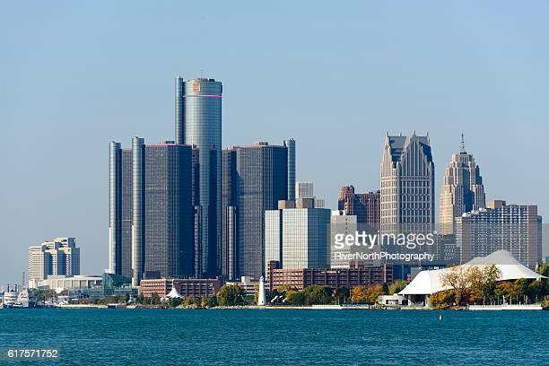 Detroit Skyline as Seen From Belle Isle