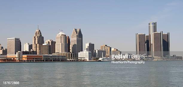 デトロイトの街並み - デトロイト ストックフォトと画像