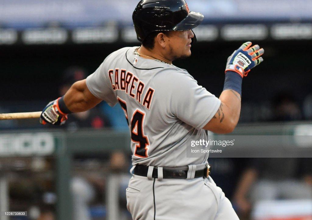 MLB: SEP 26 Tigers at Royals : News Photo