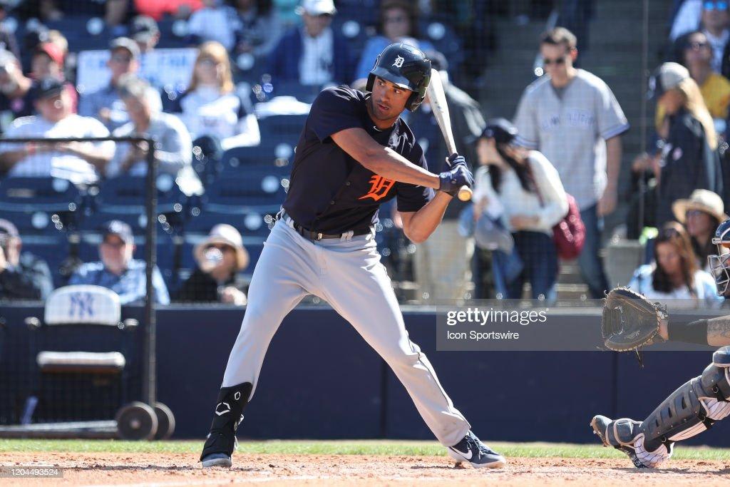 MLB: FEB 29 Spring Training - Tigers at Yankees (ss) : News Photo
