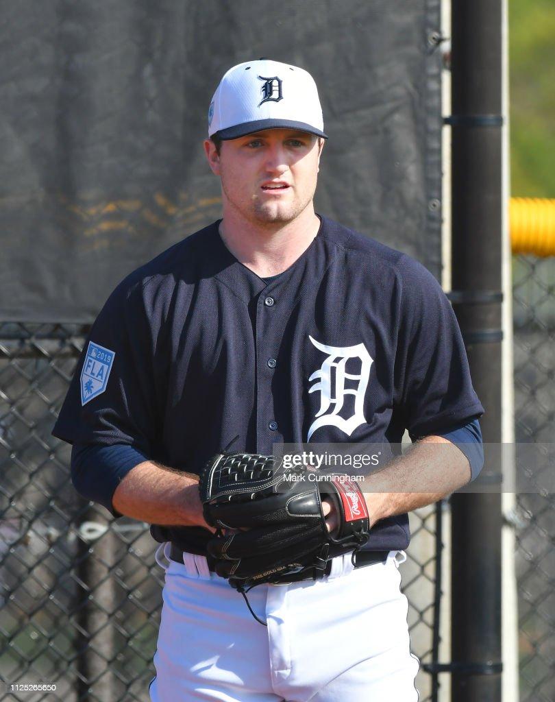 Detroit Tigers Workout : News Photo