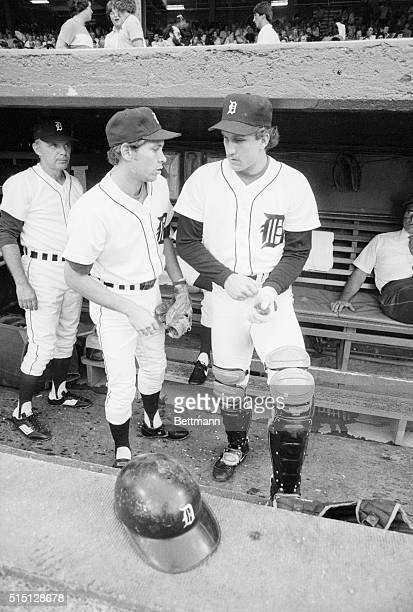 Detroit Tigers' shortstop Alan Trammell and catcher Lance Parrish were the only players from the Tiger ballclub named to this years American Leagues...