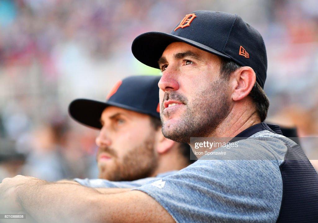 MLB: JUL 22 Tigers at Twins : News Photo