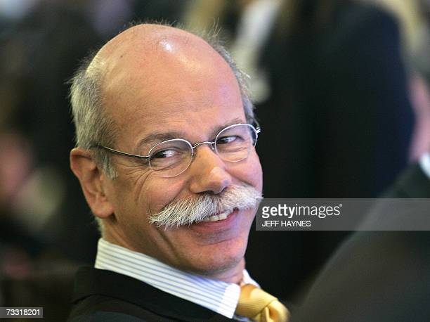 Detroit, UNITED STATES: FILES - Picture taken 07 January 2007 shows Dr. Dieter Zetsche, Chairman of the Board of Management DaimlerChrysler/Head of...