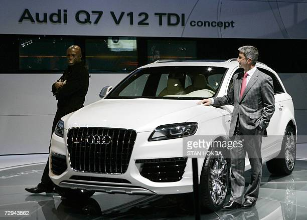 Audi Q7 Tdi Pictures And Photos Getty Images