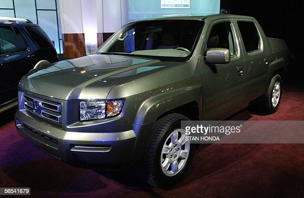 The Honda Ridgeline the 2006 North American Truck of the Year 08 January seen during the press days at the North American International Auto Show in...