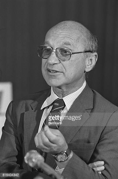 Detroit: University of Chicago Professor Milton Friedman said 10/14 he was pleased to receive the 1976 Nobel Prize for Economics, but said it was not...