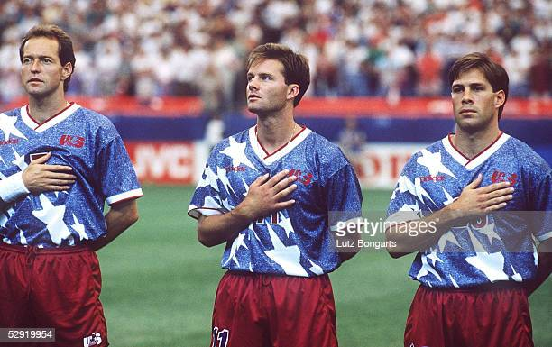 CUP 1994 Detroit USA SCHWEIZ 11 Thomas DOOLEY Eric WYNALDA Paul CALIGURI/USA
