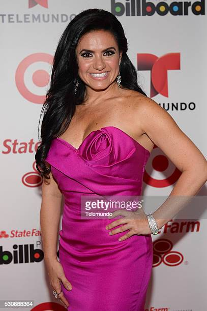 Penelope Menchaca backstage during the 2014 Billboard Latin Music Awards from Miami Florida at BankUnited Center University of Miami April 24 2014...