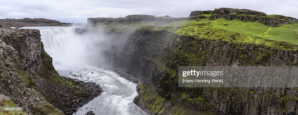 Dettifoss waterfall : Stock Photo