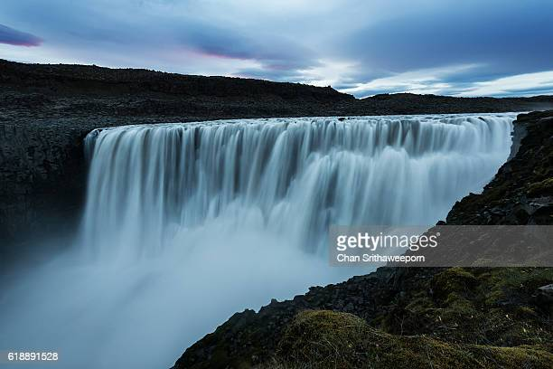 dettifoss waterfall - dettifoss waterfall stock photos and pictures