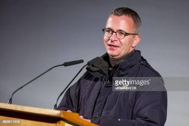 DEU/Brandenburg/Cottbus/Neuendorf Tagebau CottbusNord Albrecht Gerber Minister für Wirtschaft und Energie des Landes Brandenburg spricht auf der...