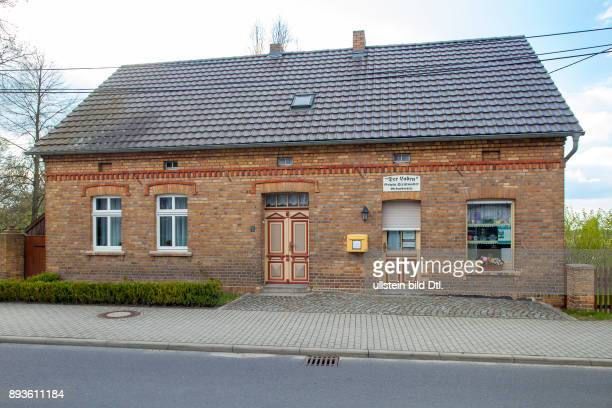 DEU/Deutschland/Brandenburg/Bohsdorf Strittmatters Laden in Bohsdorf Der Schriftsteller Erwin Strittmatter verbrachte seine Kindheit in Bohsdorf Der...