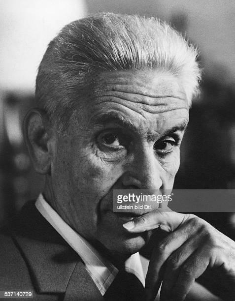 Deutsch, Ernst - Actor, Austria, , alias Ernest Dorian, - Portrait , - ca. 1960, Vintage property of ullstein bild