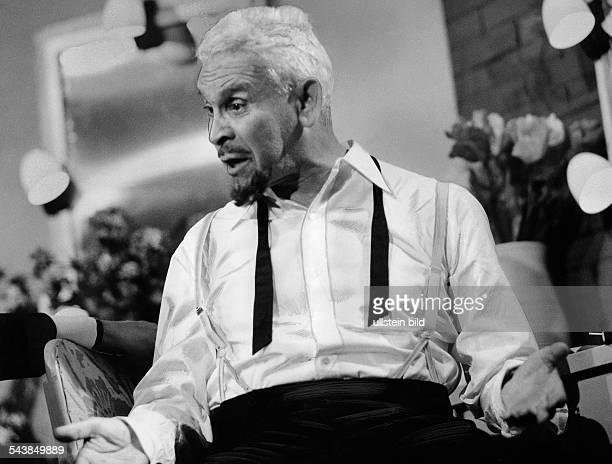 Deutsch, Ernst - Actor, Austria*16.09.1890-+alias Ernest Dorianin the play 'The Country Girl' by Clifford Odets, Theater am Kurfuerstendamm, Berlin -...