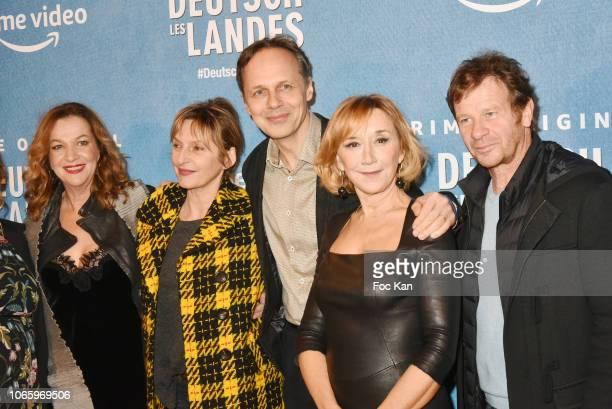 'Deutsch Les Landes' episode 1 director Annette Ernst actress Sophie Mounicot director/screenwriter Denis Dercourt MarieAnne Chazel and actor...