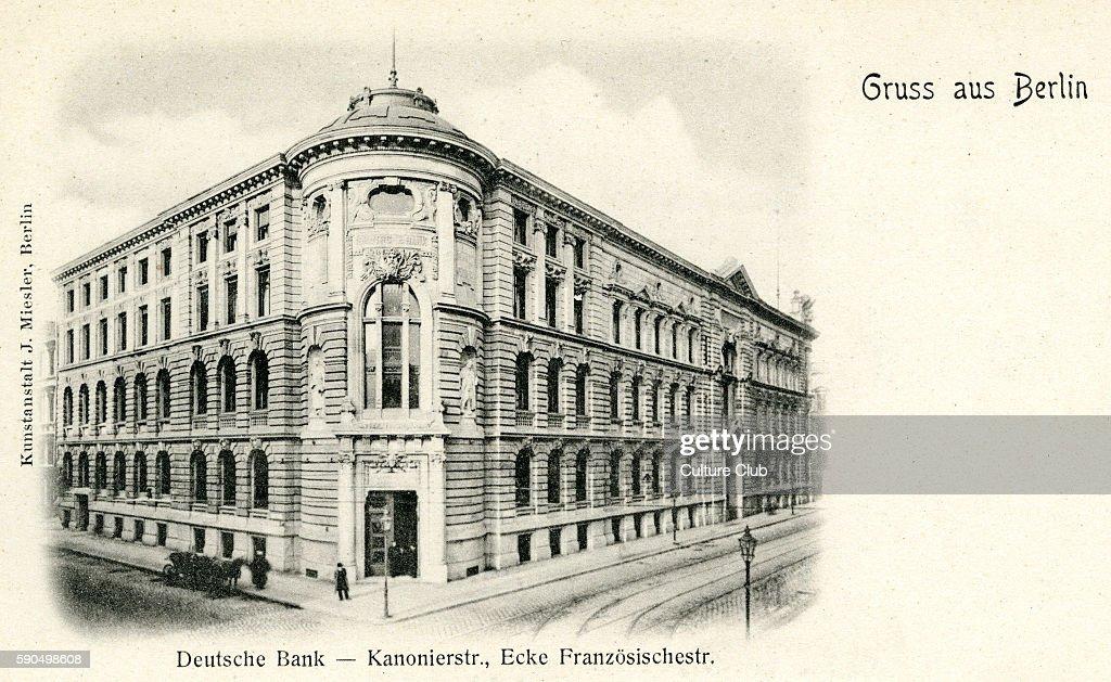 Deutsche Bank : Nachrichtenfoto