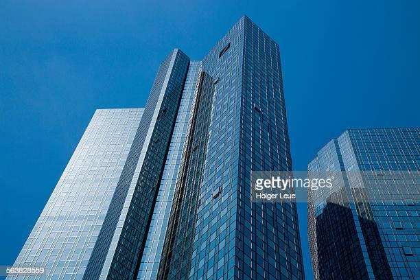 Deutsche Bank towers in financial district