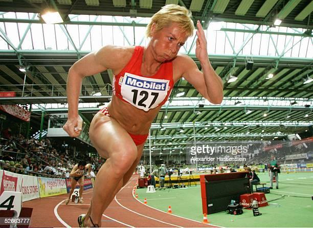 Deutsche Hallenmeisterschaft 2005, Sindelfingen, 19.02.05; 200m; Frauen; Grit BREUER/SC Potsdam