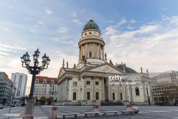 deutscher dom in berlin at day - deutscher dom stock pictures, royalty-free photos & images