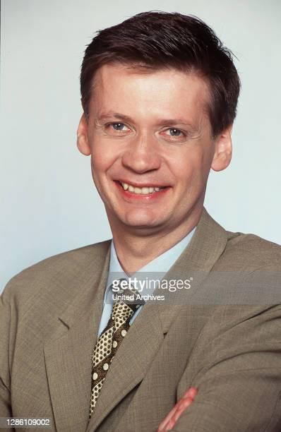 Deutscher Fernsehmoderator, Journalist, Talkmaster, Porträt von 1998..