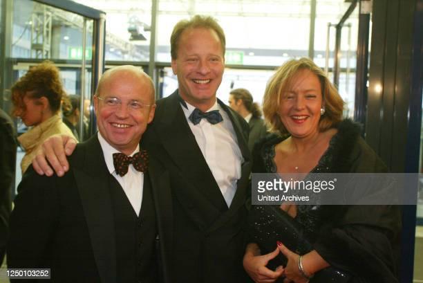 Deutscher Fernsehpreis 2002 - Auftakt zur Verleihung des 4 Deutschen Fernsehpreis. Tom Gerhardt.