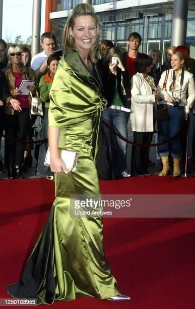 Deutscher Fernsehpreis 2004 - Verleihung des 6 Deutschen Fernsehpreises im Coloneum in Köln. Roter Teppich.