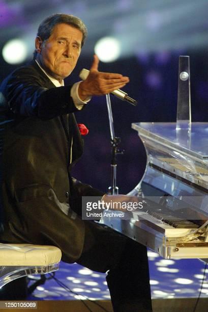 Deutscher Fernsehpreis 2004 - Verleihung des 6 Deutschen Fernsehpreises im Coloneum in Köln. Udo Jürgens.