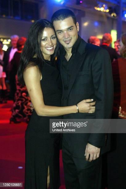 Deutscher Fernsehpreis 2004 - Verleihung des 6 Deutschen Fernsehpreises im Coloneum in Köln. After-Show-Party. Daniel Lopes.