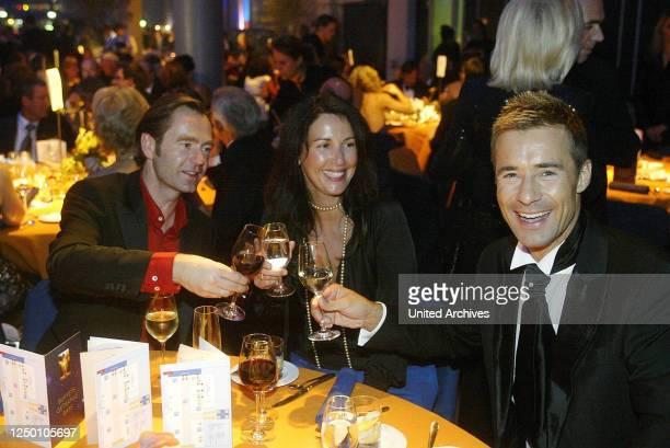 Deutscher Fernsehpreis 2004 - Verleihung des 6 Deutschen Fernsehpreises im Coloneum in Köln. After-Show-Party. Kai Pflaume.