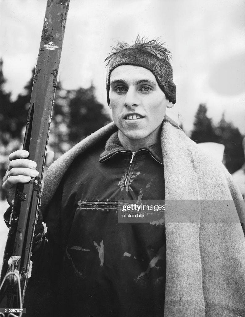 Deutscher Skilangläufer Walter Demel    News Photo - Getty Images