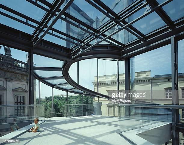 Deutsches Historisches Museum Berlin Germany Architect I M Pei Partners Deutsches Historisches Museum View To Cylinder Stair Level 2