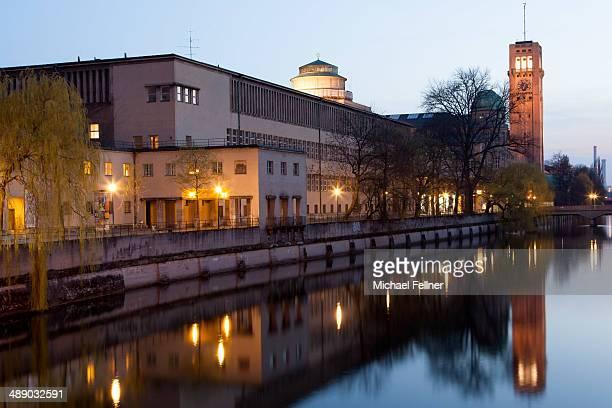 CONTENT] Deutsches Museum at dusk Munich