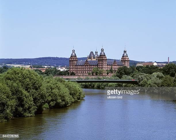 Deutschland Bayern Aschaffenburg Schloss Johannisburg am Main