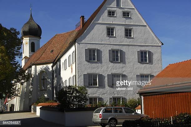 Deutschland Bayern Hohenpeißenberg Kirche Maria Himmelfahrt
