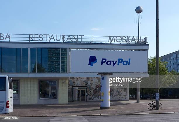 Deutschland Berlin Cafe Restaurant Moskau Karl_Marx_Allee