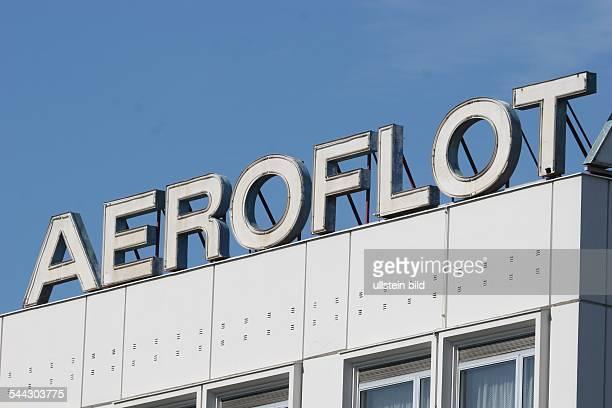 Deutschland Berlin Aeroflot Logo