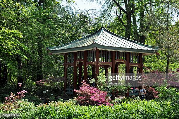 Pavillon Garten Stock Photos And Pictures Getty Images