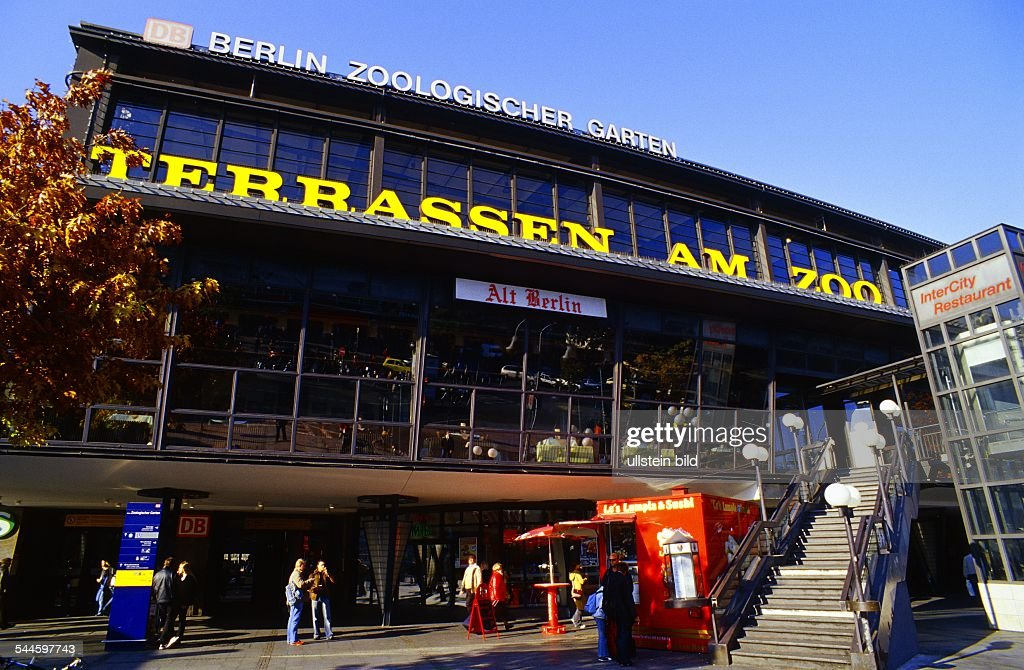 Bahnhof Zoologischer Garten Terrassen Am Zoo Mit Dem Restaurant Alt