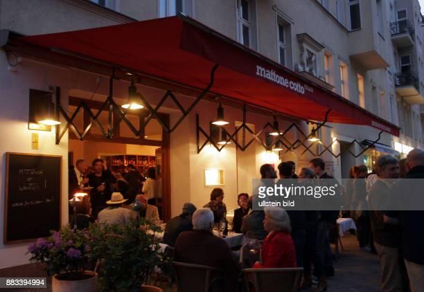 Deutschland Berlin Charlottenburg - italienischen Restaurant Mattone Cotto in der Knesebeckstrasse -