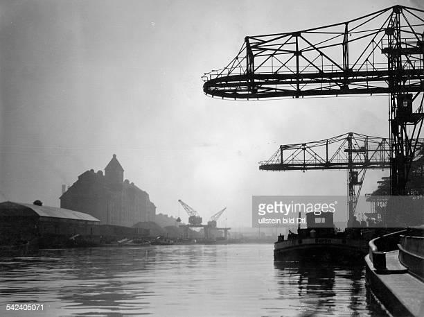 Deutschland, Berlin: Der NordhafenAufnahme: Emil Otto Hoppe- Aufnahme vor 1939