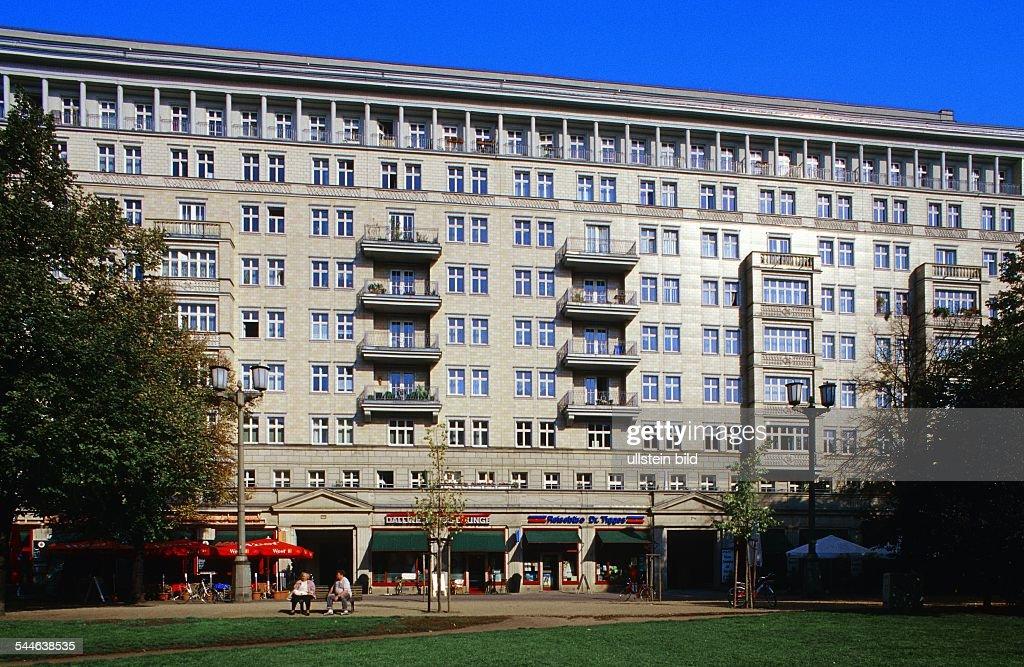 Att Architekten berlin karl marx allee bauten des architekten h henselmann