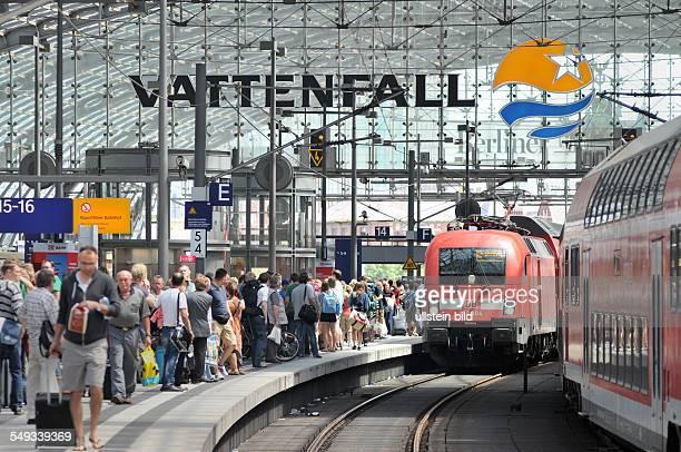 Deutschland Berlin Hauptbahnhof