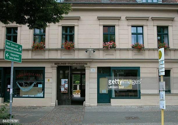 Deutschland Berlin Koepenick Berliner Stadtmission Stadmissionsgemeinde der Evangelischen Kirche Boelschestrasse 135 in BerlinFriedrichshagen