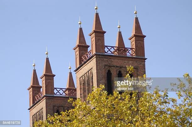 die Friedrichwerdersche Kirche am Friedrichwerderschen Markt