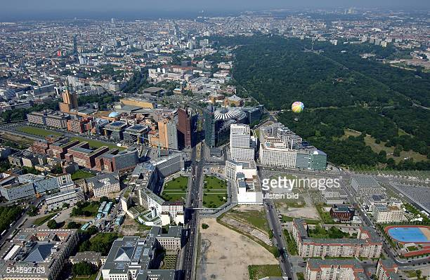 Deutschland, Berlin Mitte : Leipziger Platz und Potsdamer PlatzLuftaufnahme