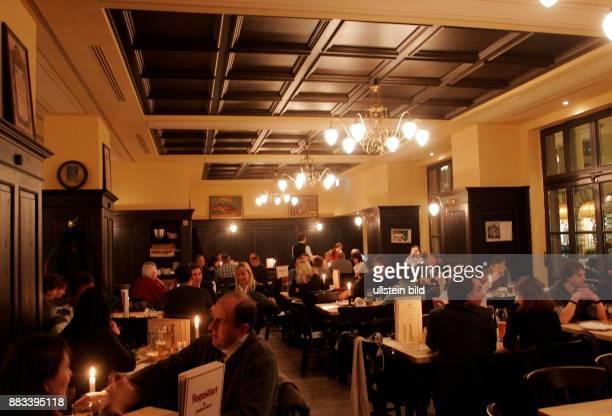 Deutschland Berlin Mitte Restaurant 'Augustiner am Gendarmenmarkt' von Grossgastronom Josef Laggner